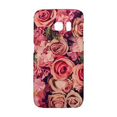 Gorgeous Pink Roses Galaxy S6 Edge by Brittlevirginclothing