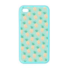 Cute Pineapple Apple Iphone 4 Case (color) by Brittlevirginclothing