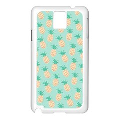 Cute Pineapple Samsung Galaxy Note 3 N9005 Case (white) by Brittlevirginclothing