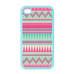 Lovely Pink Bohemian Apple Iphone 4 Case (color) by Brittlevirginclothing