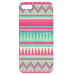 Lovely Pink Bohemian Apple Iphone 5 Hardshell Case With Stand by Brittlevirginclothing