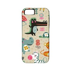 Cute Small Cartoon Characters Apple Iphone 5 Classic Hardshell Case (pc+silicone) by Brittlevirginclothing