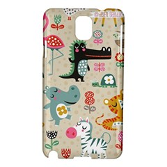 Cute Small Cartoon Characters Samsung Galaxy Note 3 N9005 Hardshell Case by Brittlevirginclothing