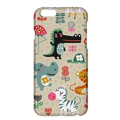 Cute Small Cartoon Characters Apple Iphone 6 Plus/6s Plus Hardshell Case by Brittlevirginclothing