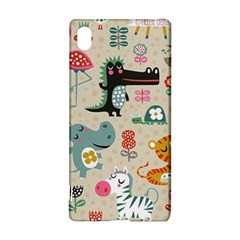 Cute Small Cartoon Characters Sony Xperia Z3+ by Brittlevirginclothing