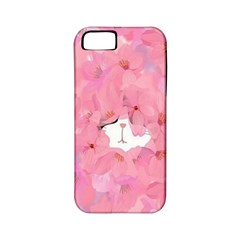 Cute Hiding Kitty Apple Iphone 5 Classic Hardshell Case (pc+silicone) by Brittlevirginclothing