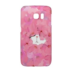 Cute Hiding Kitty Galaxy S6 Edge by Brittlevirginclothing