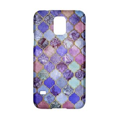 Gorgeous Blue Moroccan Mosaic Samsung Galaxy S5 Hardshell Case  by Brittlevirginclothing