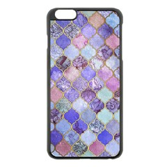Gorgeous Blue Moroccan Mosaic Apple Iphone 6 Plus/6s Plus Black Enamel Case by Brittlevirginclothing