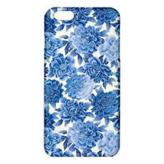 Blue Flowers Iphone 6 Plus/6s Plus Tpu Case by Brittlevirginclothing