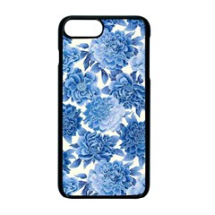 Blue Flowers Apple Iphone 7 Plus Seamless Case (black) by Brittlevirginclothing