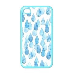 Rain Drops Apple Iphone 4 Case (color) by Brittlevirginclothing