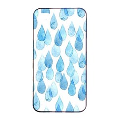 Rain Drops Apple Iphone 4/4s Seamless Case (black) by Brittlevirginclothing