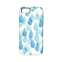Rain Drops Apple Iphone 5 Classic Hardshell Case (pc+silicone) by Brittlevirginclothing