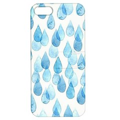 Rain Drops Apple Iphone 5 Hardshell Case With Stand by Brittlevirginclothing