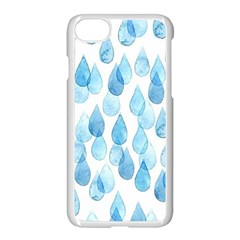 Rain Drops Apple Iphone 7 Seamless Case (white) by Brittlevirginclothing