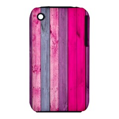 Pink Wood  Iphone 3s/3gs by Brittlevirginclothing