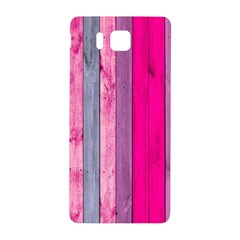 Pink Wood  Samsung Galaxy Alpha Hardshell Back Case by Brittlevirginclothing