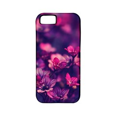 Blurry Lila Flowers Apple Iphone 5 Classic Hardshell Case (pc+silicone) by Brittlevirginclothing