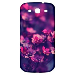 Blurry Lila Flowers Samsung Galaxy S3 S Iii Classic Hardshell Back Case by Brittlevirginclothing