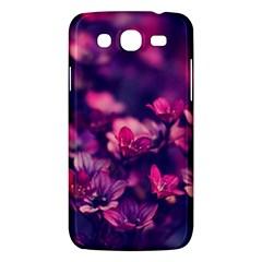 Blurry Lila Flowers Samsung Galaxy Mega 5 8 I9152 Hardshell Case  by Brittlevirginclothing