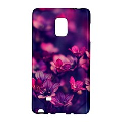 Blurry Lila Flowers Galaxy Note Edge by Brittlevirginclothing