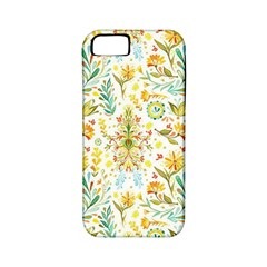 Vintage Pastel Flowers Apple Iphone 5 Classic Hardshell Case (pc+silicone) by Brittlevirginclothing
