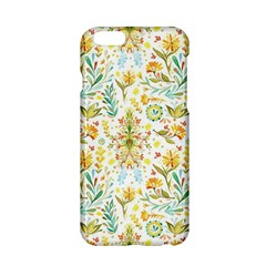 Vintage Pastel Flowers Apple Iphone 6/6s Hardshell Case by Brittlevirginclothing