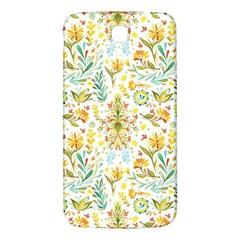 Vintage Pastel Flowers Samsung Galaxy Mega I9200 Hardshell Back Case by Brittlevirginclothing