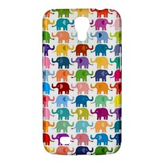 Cute Colorful Elephants Samsung Galaxy Mega 6 3  I9200 Hardshell Case by Brittlevirginclothing