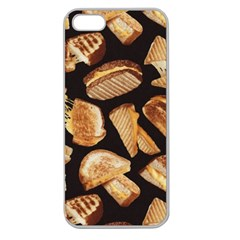 Delicious Snacks Apple Seamless Iphone 5 Case (clear) by Brittlevirginclothing