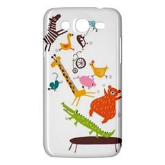 Cute Cartoon Animals Samsung Galaxy Mega 5 8 I9152 Hardshell Case  by Brittlevirginclothing