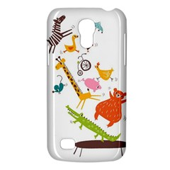 Cute Cartoon Animals Galaxy S4 Mini by Brittlevirginclothing