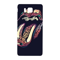 The Rolling Stones Glowing Samsung Galaxy Alpha Hardshell Back Case by Brittlevirginclothing