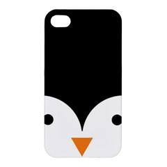 Cute Pinguin Apple Iphone 4/4s Premium Hardshell Case by Brittlevirginclothing