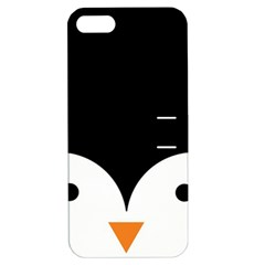 Cute Pinguin Apple Iphone 5 Hardshell Case With Stand by Brittlevirginclothing