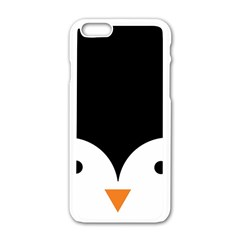 Cute Pinguin Apple Iphone 6/6s White Enamel Case by Brittlevirginclothing