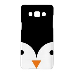 Cute Pinguin Samsung Galaxy A5 Hardshell Case  by Brittlevirginclothing