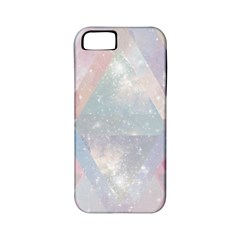 Pastel Colored Crystal Apple Iphone 5 Classic Hardshell Case (pc+silicone) by Brittlevirginclothing