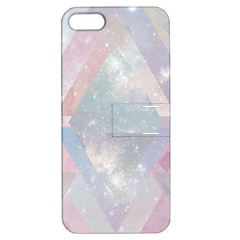 Pastel Colored Crystal Apple Iphone 5 Hardshell Case With Stand by Brittlevirginclothing