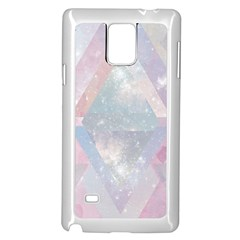 Pastel Colored Crystal Samsung Galaxy Note 4 Case (white) by Brittlevirginclothing