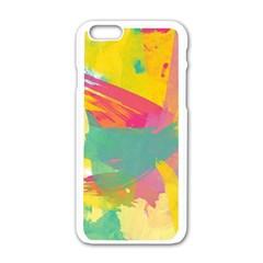 Paint Brush Apple Iphone 6/6s White Enamel Case by Brittlevirginclothing