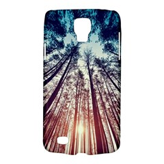 Up View Forest Galaxy S4 Active by Brittlevirginclothing