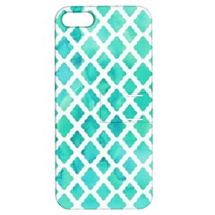 Blue Mosaic  Apple Iphone 5 Hardshell Case With Stand by Brittlevirginclothing