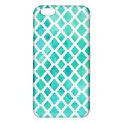 Blue Mosaic  Iphone 6 Plus/6s Plus Tpu Case by Brittlevirginclothing