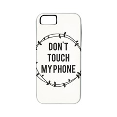 Don t Touch My Phone Apple Iphone 5 Classic Hardshell Case (pc+silicone) by Brittlevirginclothing
