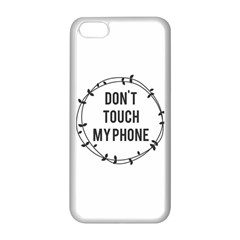 Don t Touch My Phone Apple Iphone 5c Seamless Case (white) by Brittlevirginclothing