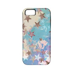 Pastel Stars Apple Iphone 5 Classic Hardshell Case (pc+silicone) by Brittlevirginclothing