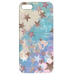 Pastel Stars Apple Iphone 5 Hardshell Case With Stand by Brittlevirginclothing