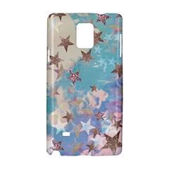 Pastel Stars Samsung Galaxy Note 4 Hardshell Case by Brittlevirginclothing